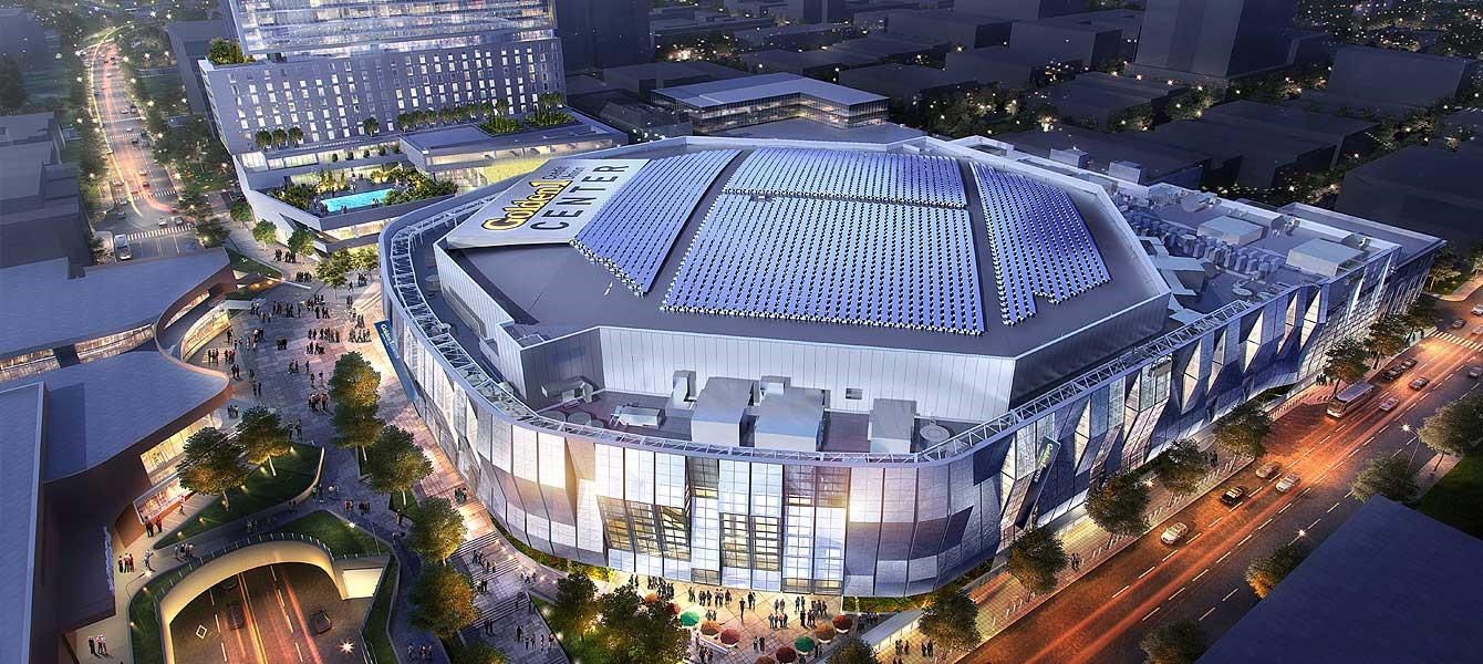 The Golden 1 Center sits proudly in the heart of downtown Sacramento, less than a mile from California's first thriving business district. It's here that you'll find people from all walks of life building a community around their favorite things: Music, sports (NBA Sacramento Kings), entertainment, culture, food, and beverage.