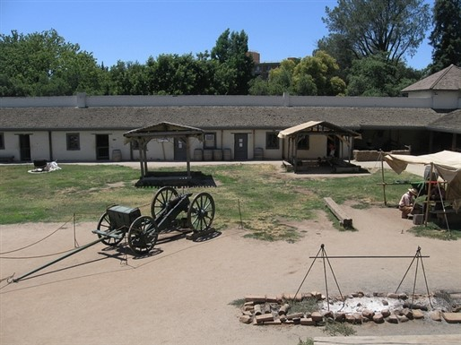 Sutter's Fort In the mid-1840s, Swiss immigrant John Sutter built his fortress to protect himself and his harvested crops on 150,000 acres of... More